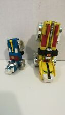 Voltron Defender of the Universe Yellow and Blue Lion