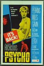 Psycho Alfred Hitchcock 35mm Film Cell strip very Rare var_b
