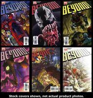 Beyond! 1 2 3 4 5 6 Complete Set Run Lot 1-6 VF/NM