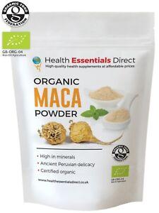 Organic Maca Root Powder  - Raw (Premium 4 Root, Peruvian Superfood) Choose Size