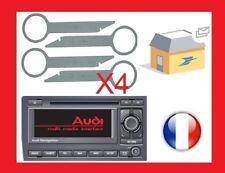 cles extraction autoradio démontage audi navigation bns 5.0
