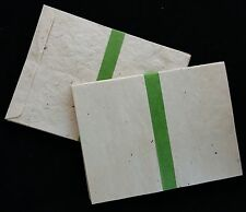 9x12 Handmade Lokta Paper Envelopes, Eco-Friendly, Natural Texture, pack of 50