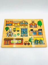 Vintage Fisher Price Puzzle 1971 Holland Complete