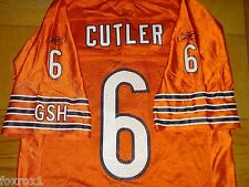 Chicago Bears Jersey 6 Jay CUTLER Orange NFL Authentic Reebok GSH Size Small 46