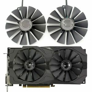 For ASUS ROG STRIX Dual RX470 RX570 580 RX 470 95 mm GPU PLD10010S12H Cooler Fan
