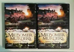 MIDSOMER MURDERS  series thirteen 13 part 1 / part 2   DVD LOT