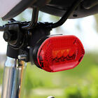 Waterproof 5 LED Bike Bicycle Light Safety Rear Flashlight Tail Warning Lamp KL
