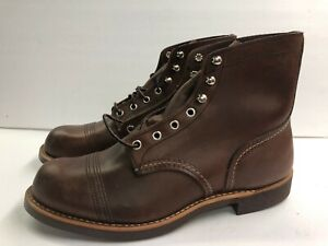 Red Wing Iron Ranger 8111 Men's 8.5 Wide Amber Harness