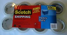 Scotch Heavy Duty Shipping Packaging Tape 188 Inches X 546 Yards 8 Rolls 400