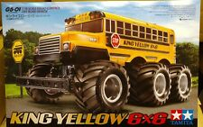 Tamiya 58653 1/18 RC King Yellow Bus 6x6 G6-01 Chassis 6WD Truck Japan Import