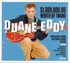 DUANE EDDY $10,000,000.00 WORTH OF TWANG -2 ORIGINAL ALBUMS+BONUS TRACKS-NEW 2CD