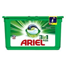 Ariel 3 in 1 Pods Laundry Washing Liquid Gel Capsules Detergent Pack of 35
