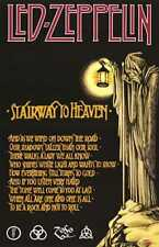 LED ZEPPELIN Stairway To Heaven 24 x 36 Classic Rock IV LARGE MUSIC POSTER
