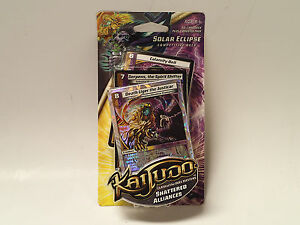 KAIJUDO CCG Shattered Alliances factory sealed 40-card Deck: SOLAR ECLIPSE