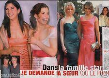 Coupure de presse Clipping 2006 Frère ou Soeur dans la famille Star  (4 pages)