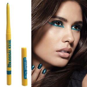 Maybelline Turquoise Blue Eyeliner Shimmer Metallic Colossal 12Hr Long Lasting