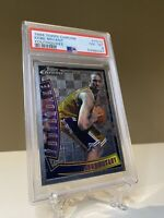1996-97 Topps Chrome Kobe Bryant RC Rookie YouthQuake PSA 8 NM-Mint Lakers #YQ15