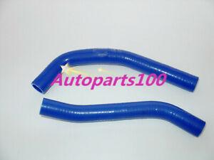 Blue Silicone Radiator Hose Kit For Yamaha YZ85 YZ 85 2002-2013 2010 2011 2012