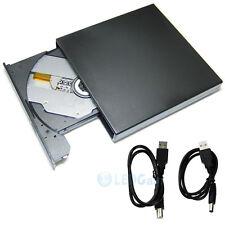 Slim External DVD Drive RW USB 2.0 CD Writer Drive Burner Player PC Laptop US