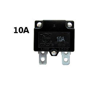 10A Vollautomat Sicherung für Kinderauto Kinderfahrzeug Kinder Elektroauto *NEU*