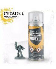 Warhammer 40K Citadel MECHANICUS STANDARD GREY SPRAY PRIMER GAW 62-26