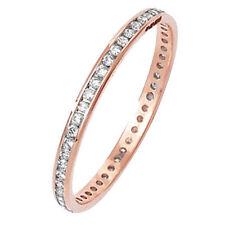 Diamond Eternity Rose Gold Fine Rings