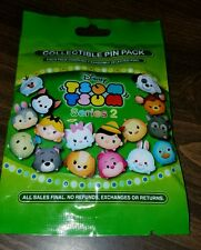 Disney Pins Tsum Tsum Series 2 MYSTERY PIN PACK  AUTHENTIC