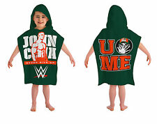 WWE John Cena  Children's hooded  Poncho/Towel