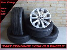 "2260 Genuine 20"" 502 Land Range Rover Sport Vogue Alloy Wheels & Pirelli Tyres"