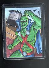 2016 Cryptozoic DC Justice league Adam Cleveland sketch card #2