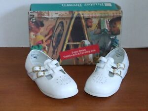 Buster Brown Pixy White Girls Dress Shoes