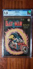 Batman #25, CGC 1.5, first Joker + Penguin