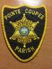 PATCH POLICE SHERIFF POINTE COUPEE PARISH COUNTY - LOUISIANA LA state