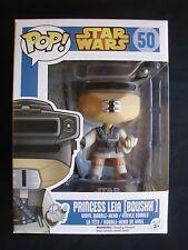 Pop! Star Wars -  Princess Leia [ Boushh ] Vinyl Bobble-head by FUNKO