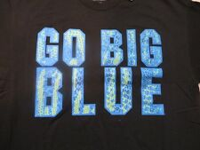 "Ncaa Kentucky Wildcats ""Go Big Blue"" Black T-Shirt Xl/X-Large Nwt!"