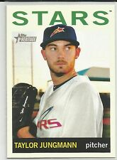 Taylor Jungmann Milwaukee 2013 Topps Heritage Minor League