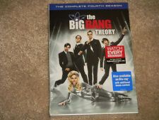 The Big Bang Theory: The Complete Fourth Season DVD NEW SEALED