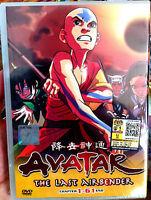 Avatar: The Last Air Bender: Books 1-3 (VOL.1 - 61 End) ~ All Region ~ Brand New
