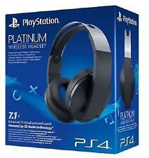 Official Sony PlayStation 4 Platinum Ps4 Wireless 7.1 Headset