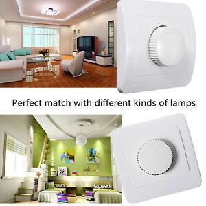 2 x LED-Dimmer Schalter Unterputz aufputz für Dimmbare LED Lampe Weiß 4 bis 300W