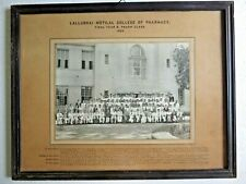 1955 B&W Camera STUDENT Group Photo LALLUBHAI MOTILAL COLLEGE OF PHARMACY INDIA