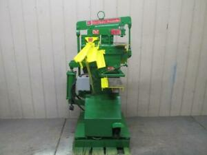 Dynamic Specialties 23P-522G Ironworker 35 Ton Punch Press Angle Iron Shear