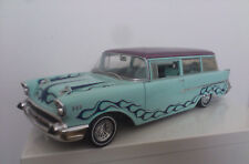 MUSCLE MACHINES 1/12     ****  CHEVROLET BEL AIR WAGON 1957  ****  VERY RARE!