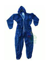 25 Tute complete protettive usa e getta monousoda lavoro in colore blu tg XXL