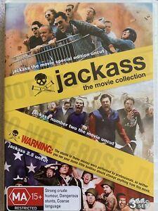 DVD: Jackass Series - Jackass (uncut) + Jackass 02 (uncut) + Jackass 2.5(uncut)