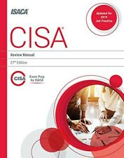 CISA Review Manual, 27th Edition - ISACA - Original, absolutely new & unused