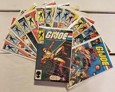 GI Joe ARAH Marvel Comics Lot Of 15 Issues 19-34