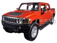 2009 HUMMER H3T ORANGE 1/26 DIECAST CAR MODEL BY MAISTO 31286