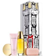 Estee Lauder Beautiful Gift Set 5 PC Ultimate Luxuries PARFUM 3.4 oz + Powder +