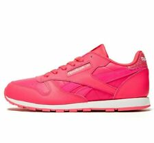 ddeb3f597a5 Reebok Classic Leather Junior Ladies Trainers Size 5